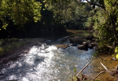 Camping Canto dos Pássaros - Vista do Rio