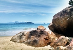 Pedras Praia de 7 Fontes - Ubatuba SP