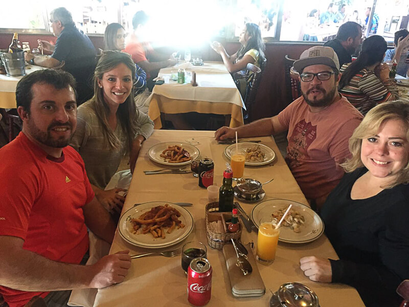 São Bento do Sapucaí - Almoço - Viajando de Barraca - Os Voos da Xoana
